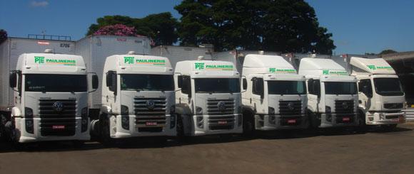 Frota de Caminhões da Empresa